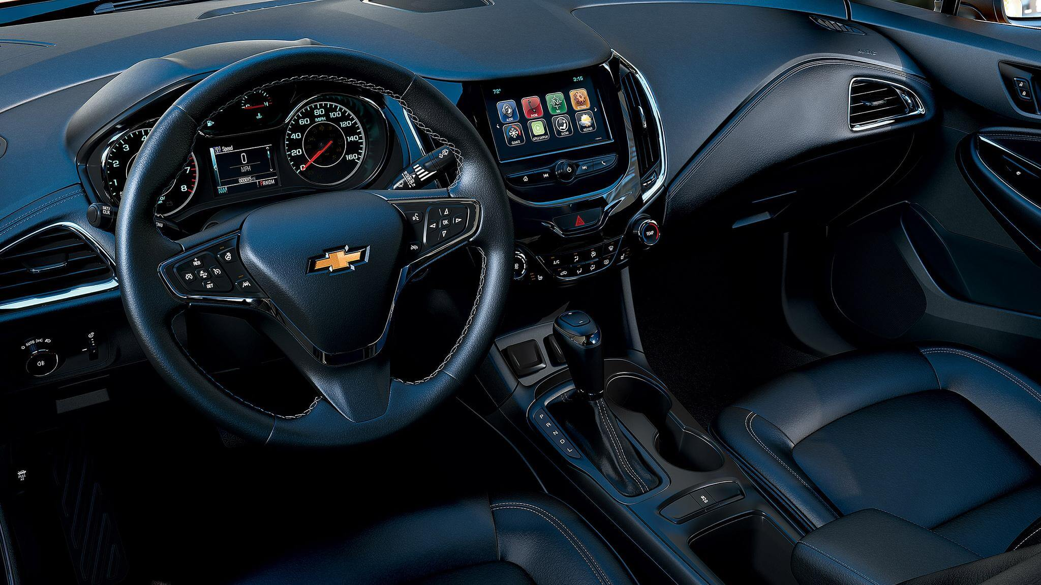 Chevy Cruze interior