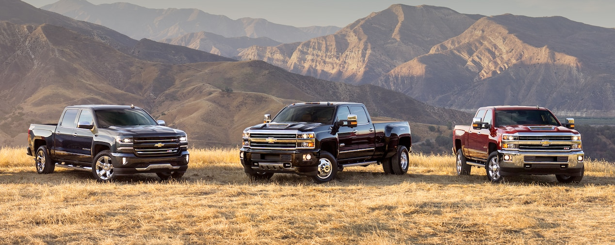 silverado trucks different trims