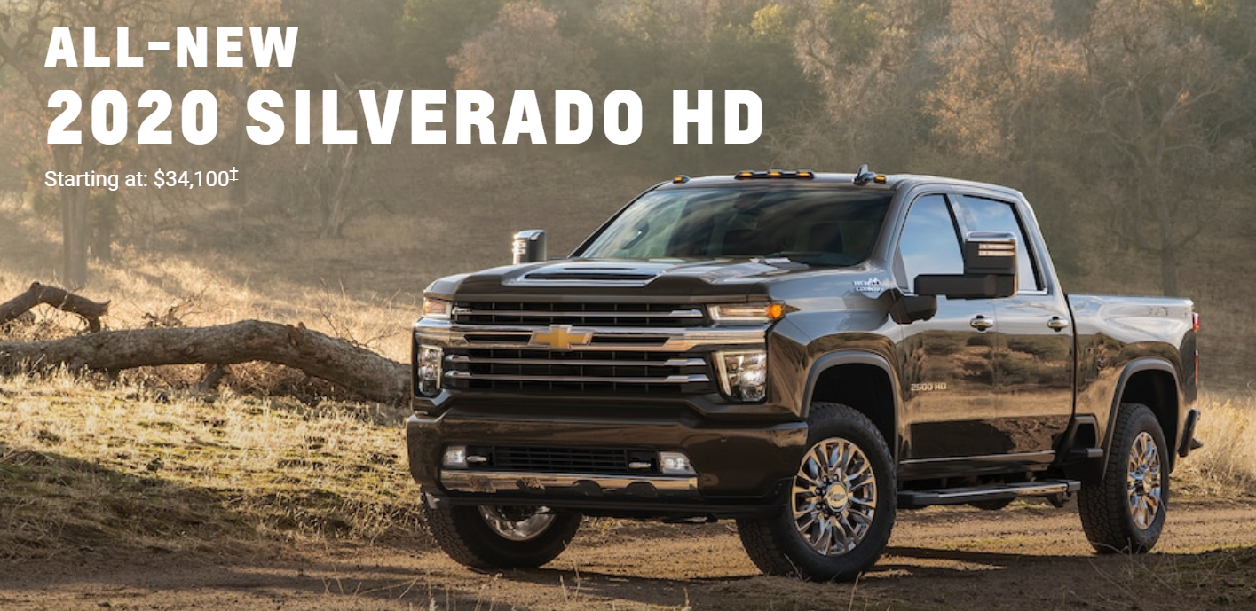 2020 Silverado HD - Awesome Performance at an Affordable Price