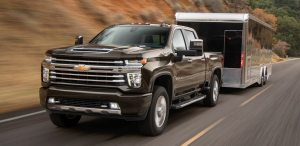 2020 Silverado HD - Tackles 35,000+ Pounds with Ease