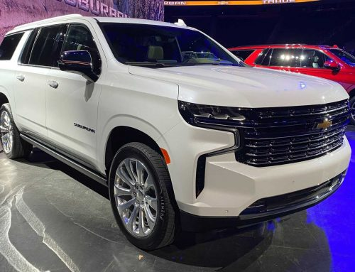 2021 Chevy Suburban Coming with More Towing Power